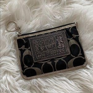 Coach Poppy mini wallet/card holder